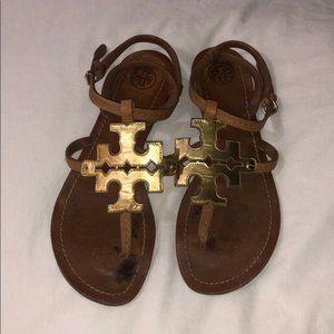 Tory Burch Chandelier Sandals, Size 8